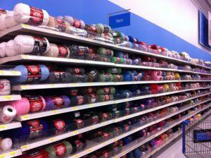 knitting aisle